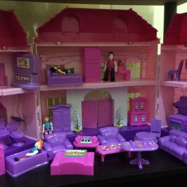 my happy family dollhouse toys games toys on carousell