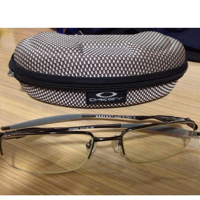 Oakley Semi-rimless Eyeglasses