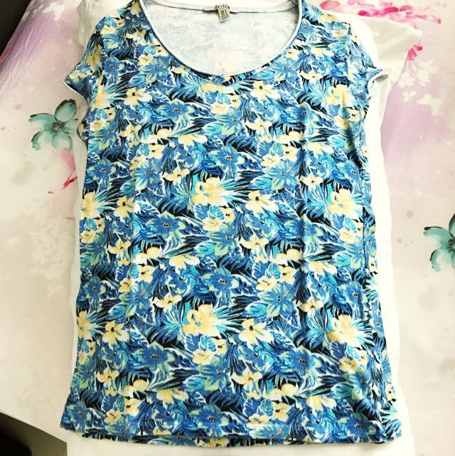 Original Zara Floral Blouse