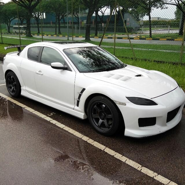 2008 Mazda Rx 8 Camshaft: Pearl White Mazda Rx8 1.3M (Sunroof), Cars, Cars For Sale