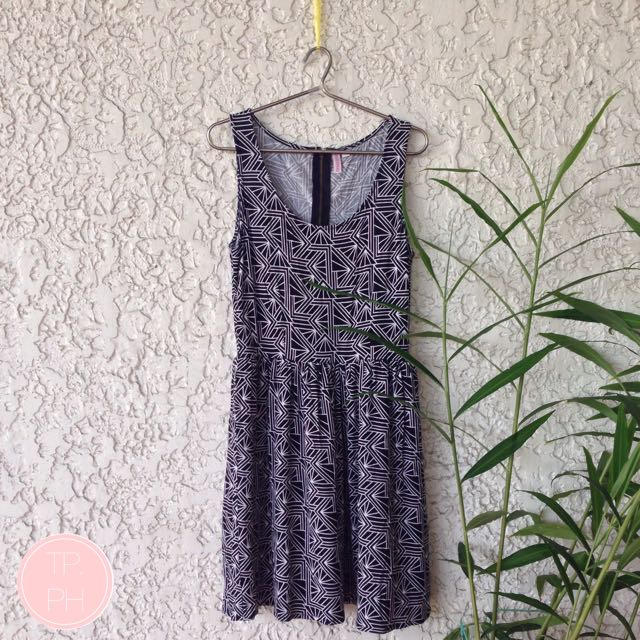 REPRICED Penshoppe Geometric Print Dress