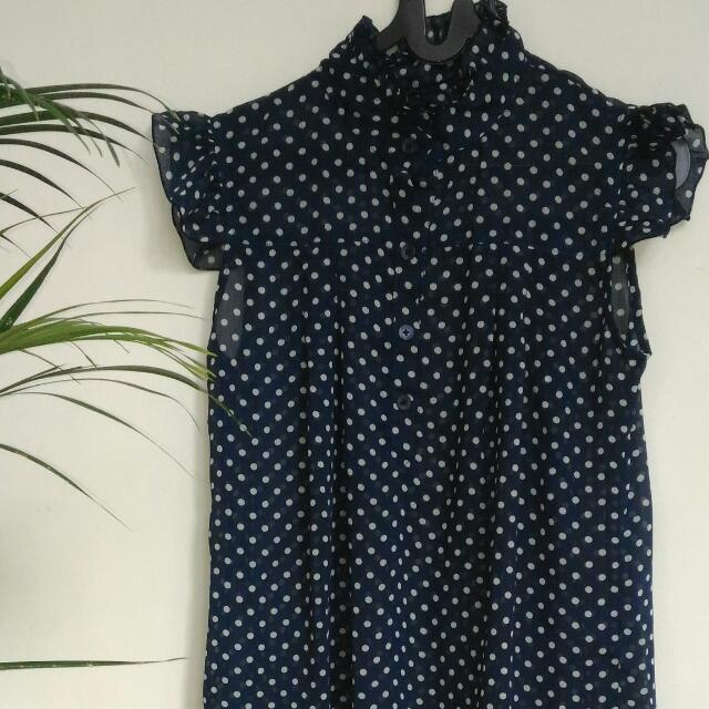 [Preloved] Polka Top