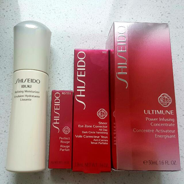 Shiseido makeup+ Skincare