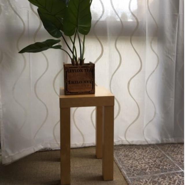 Side table / coffee table / bedside table in birch veneer