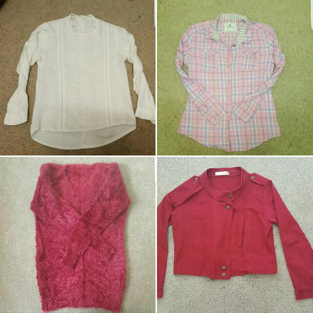 Size 4 - 6 Top Bundle