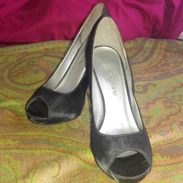 Size 8 Black After Hours Heels