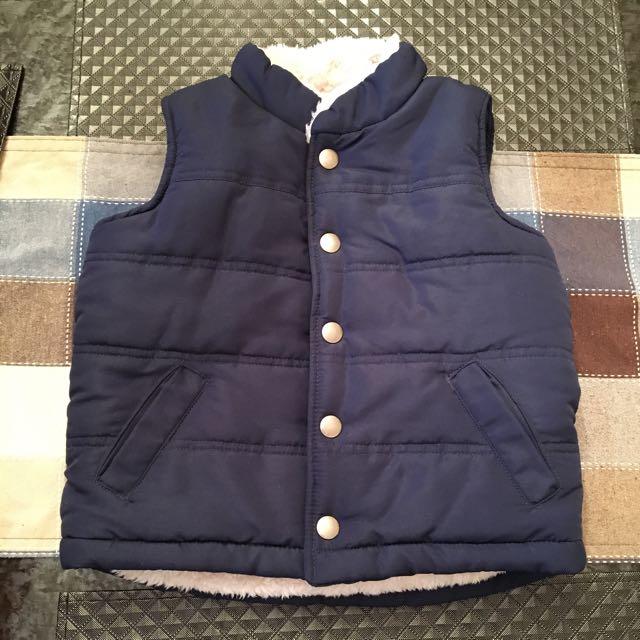 SKYR Blue waistcoat: Size : 2 t