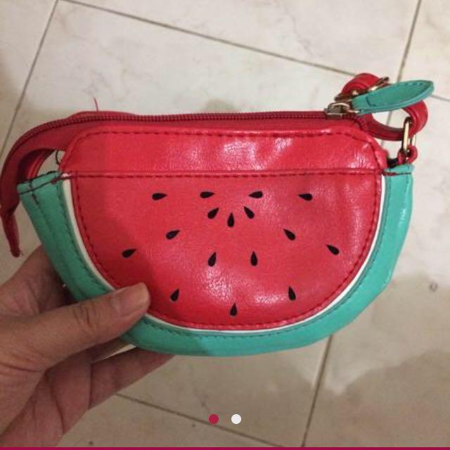 sling bag semangka
