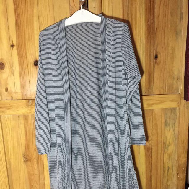 Stripes Long Outter (Cardigan Panjang/outter Panjang)