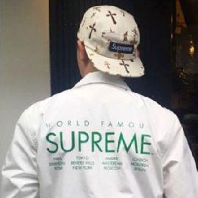 Supreme International Coaches Jacket M