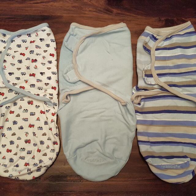 Swaddle Me Blankets - Set Of 3