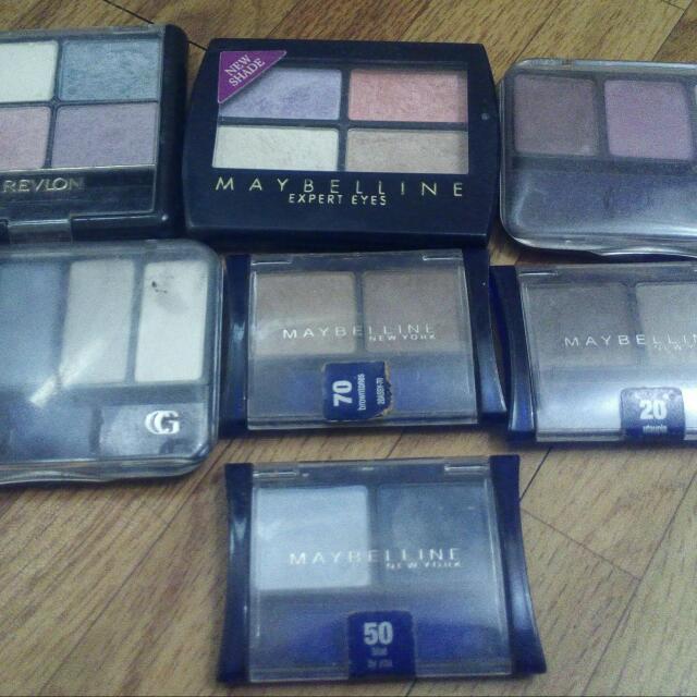 Take all: Preloved Authentic Eyeshadows