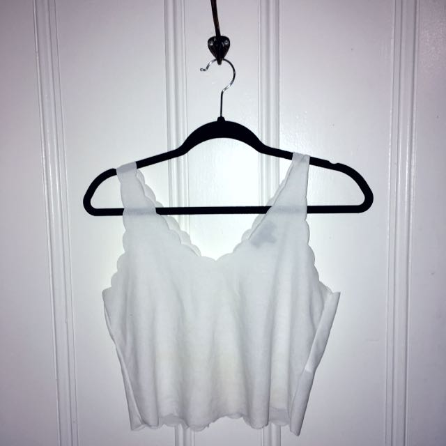 🔸RESERVED🔸 Topshop White Tank