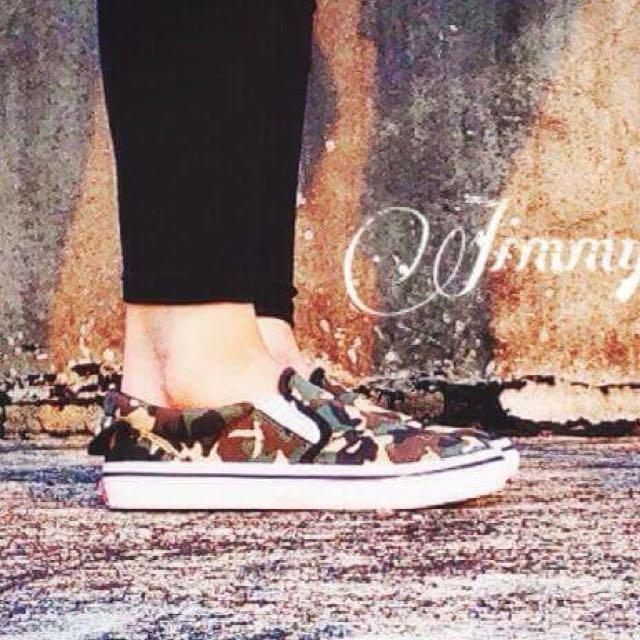 🐄VANS街頭迷彩系列🐄女鞋-大童鞋(含運)