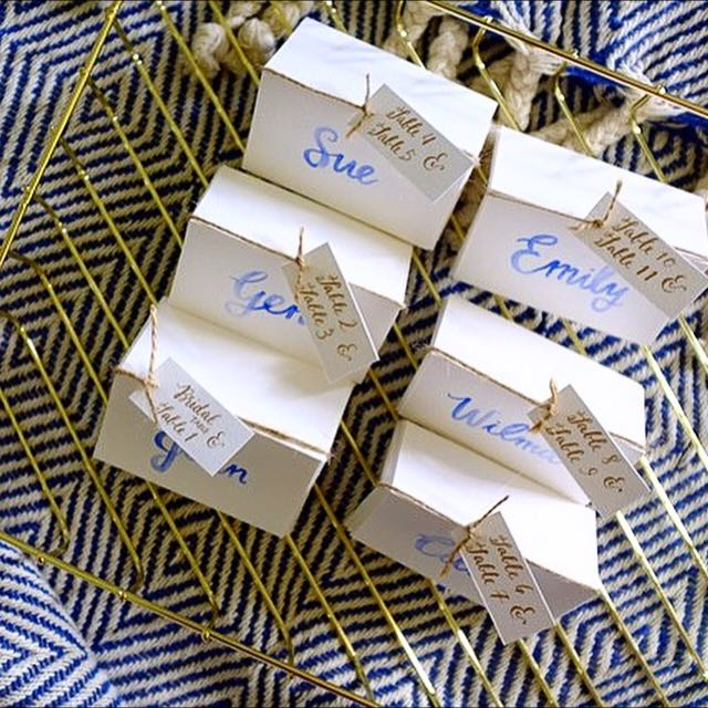 Watercolour Place Cards