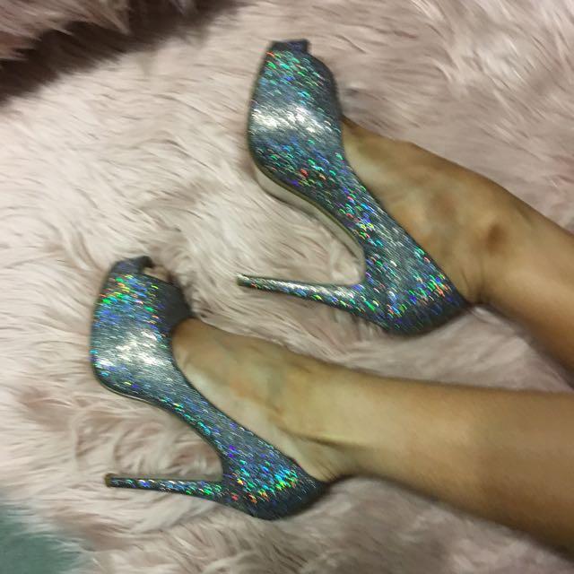 Zu High Heels Sparkling