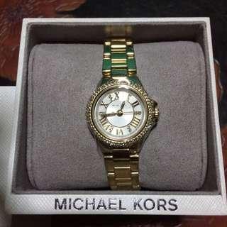 MK 金鑽面手錶