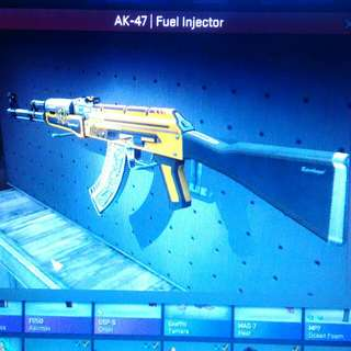CSGO AK-47 FUEL INJECTOR FIELD-TESTED 82%MP