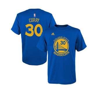 【NBA青年版(女孩版)】CURRY T-Shirt 藍
