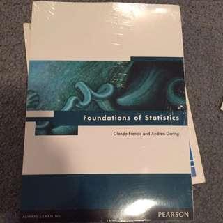BRAND NEW - Foundation Of Statistics