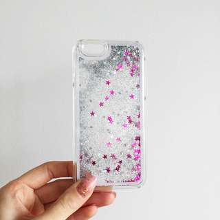 iPhone 6/6s Flowing Glitter Case