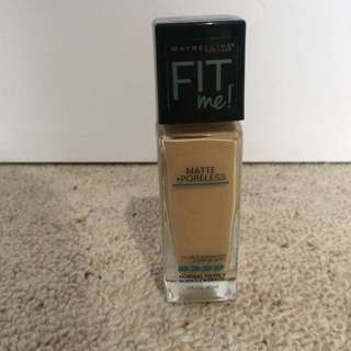 Maybelline Fit Me! Matte And Poreless Foundation
