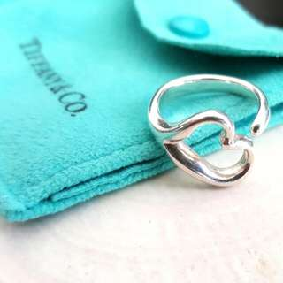 Tiffany and Co. Open Heart Ring by Elsa Peretti