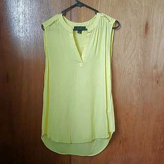 Loose Fitting Yellow Top