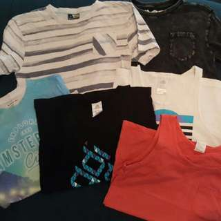 Size 12 Boys Pack Of Tops.