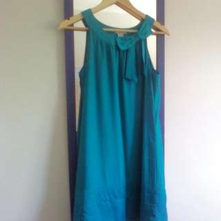 Size 38/ M/ 10 Jungle Green Dress from H&M