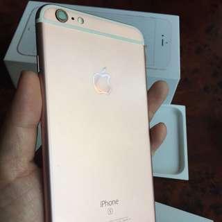 iphone6s plus 64G玫瑰金 9.99新
