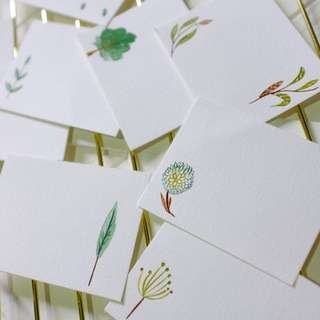 Woodland Theme Place Cards