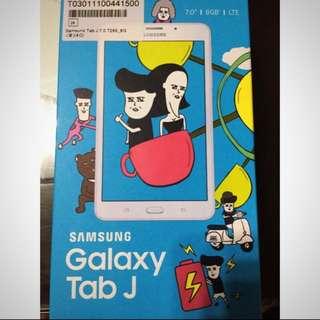 Samsung Galaxy Tab j #送保護套#送16g記憶卡✨香檳金