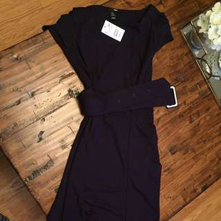Plum Coloured H&M Dress