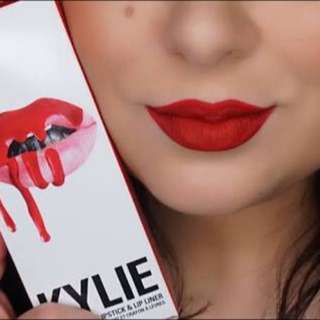 KYLIE LIPKIT MARY JO K - RED