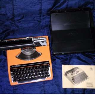 🚚 SEIKO Silver Reed SR200 (亮橘) 古董打字機