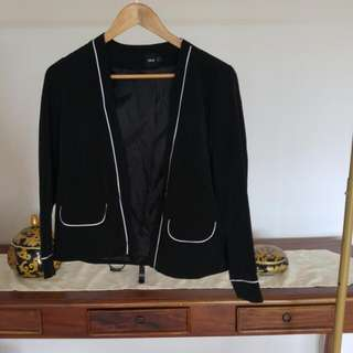 Asos Jacket with White Piping