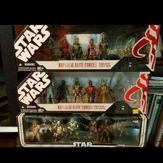 Star Wars Rare Box Set Action Figures