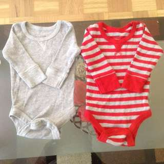 Baby Boy  Long Sleeve Body Suits