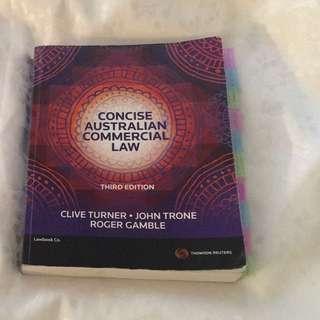 Concise Australian Commercial Law