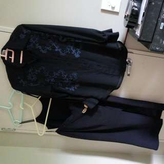 3pc, Inner, Blouse & Skirt, Size 10-12