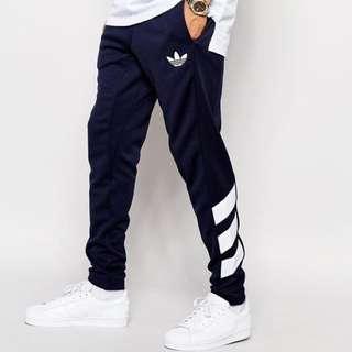 Adidas Originals Skinny Trackpants 棉褲 縮口褲 運動褲 陳奕迅著用 黑白XS