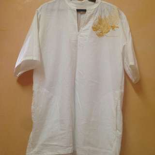 Men's Embroidered Top