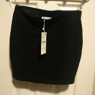Zara Black Pencil Skirt