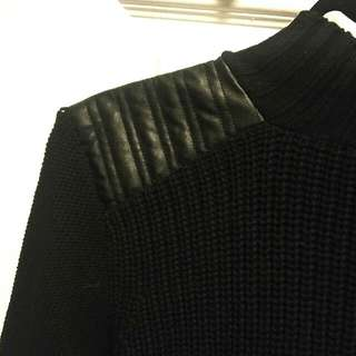 Zara High Neck Knit