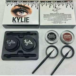 kylie eyeliner gel 2 in 1 double colour