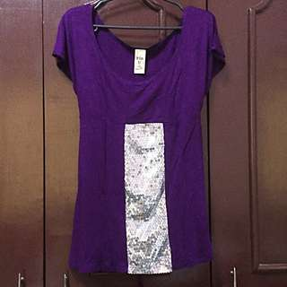 Pre-loved Sequined Top