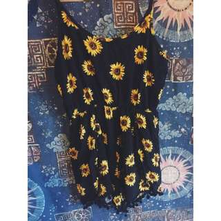Sunflower Jumpsuit/ Playsuit