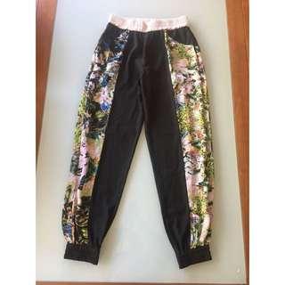 Floral Harem Style Pants Sheike