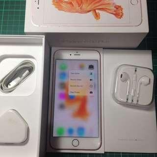 iPhone 6s Plus 128GB, Rose Gold. Mulus Fullset. Original